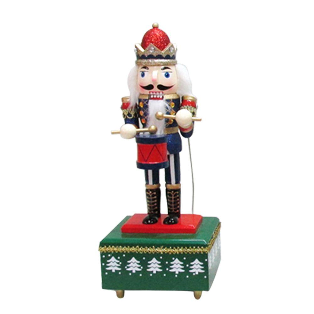 Home Accents Holiday 12 in. Nutcracker Drummer (3-Assorted)-16087013A - The Home