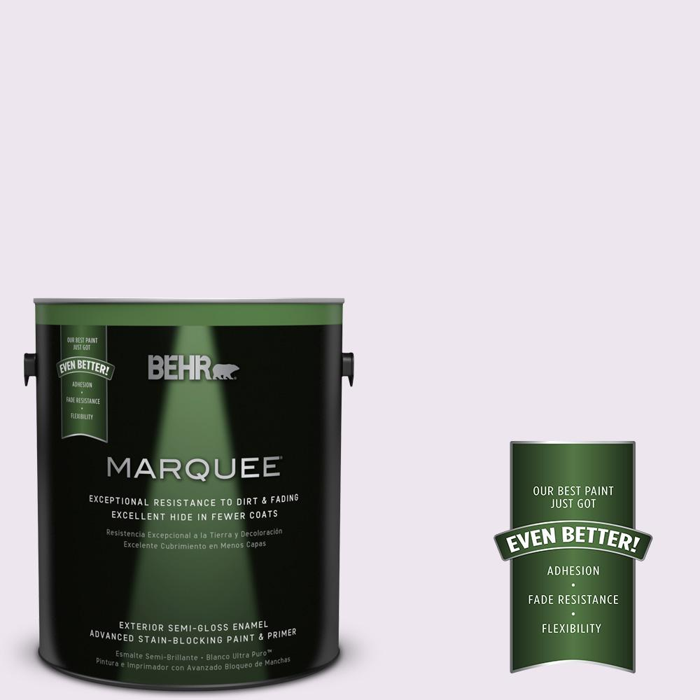 BEHR MARQUEE 1-gal. #M570-1 In the Spotlight Semi-Gloss Enamel Exterior Paint
