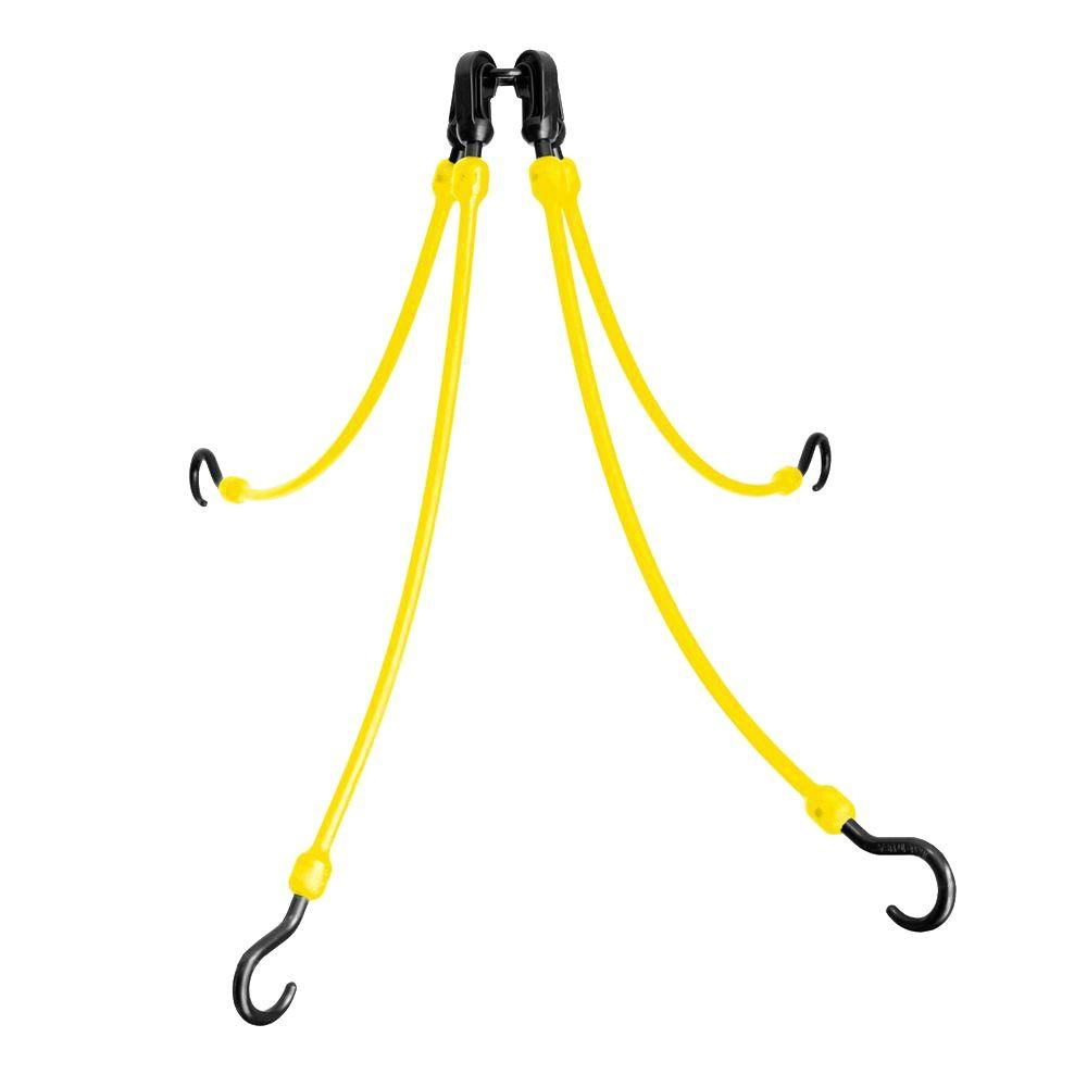 The Perfect Bungee 18 in. Polyurethane Flex Web with Four Arms