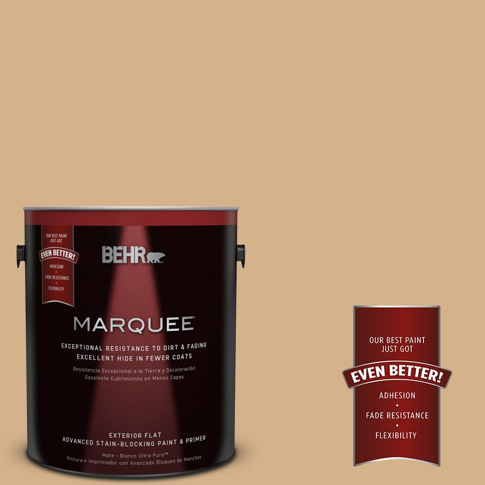 BEHR MARQUEE 1-gal. #S290-4 Summerwood Flat Exterior Paint