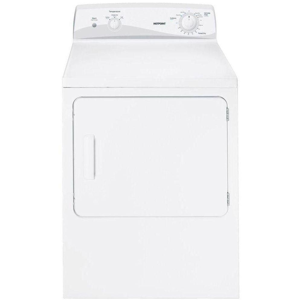 Hotpoint 6.0 cu. ft. Gas Dryer in White