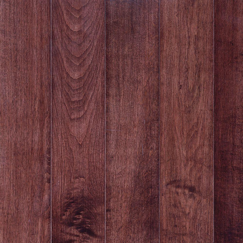 Abbington Cherry (Red) Maple Solid Hardwood Flooring - 5 in. x 7 in. Take Home Sample
