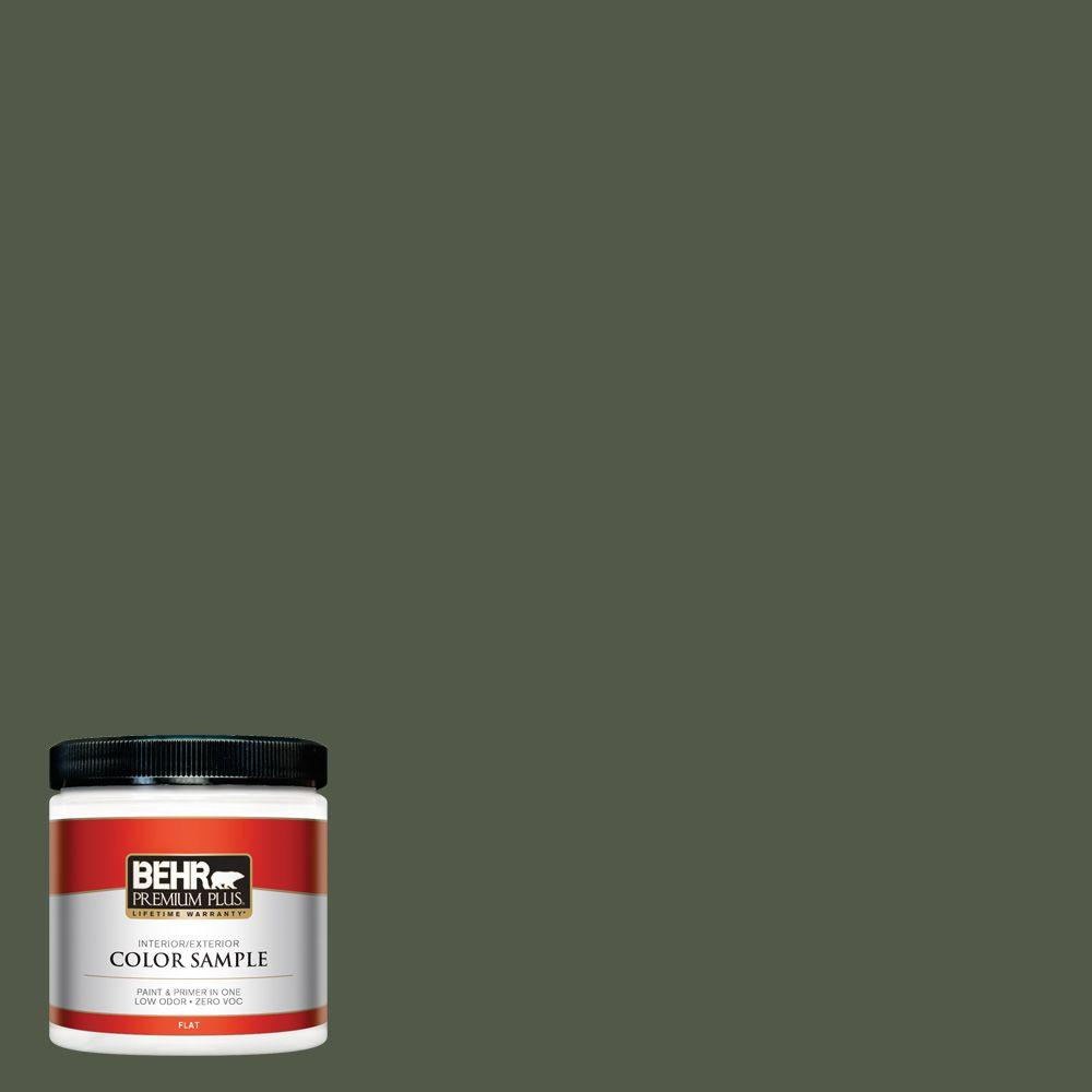8 oz. #430F-7 Windsor Moss Interior/Exterior Paint Sample