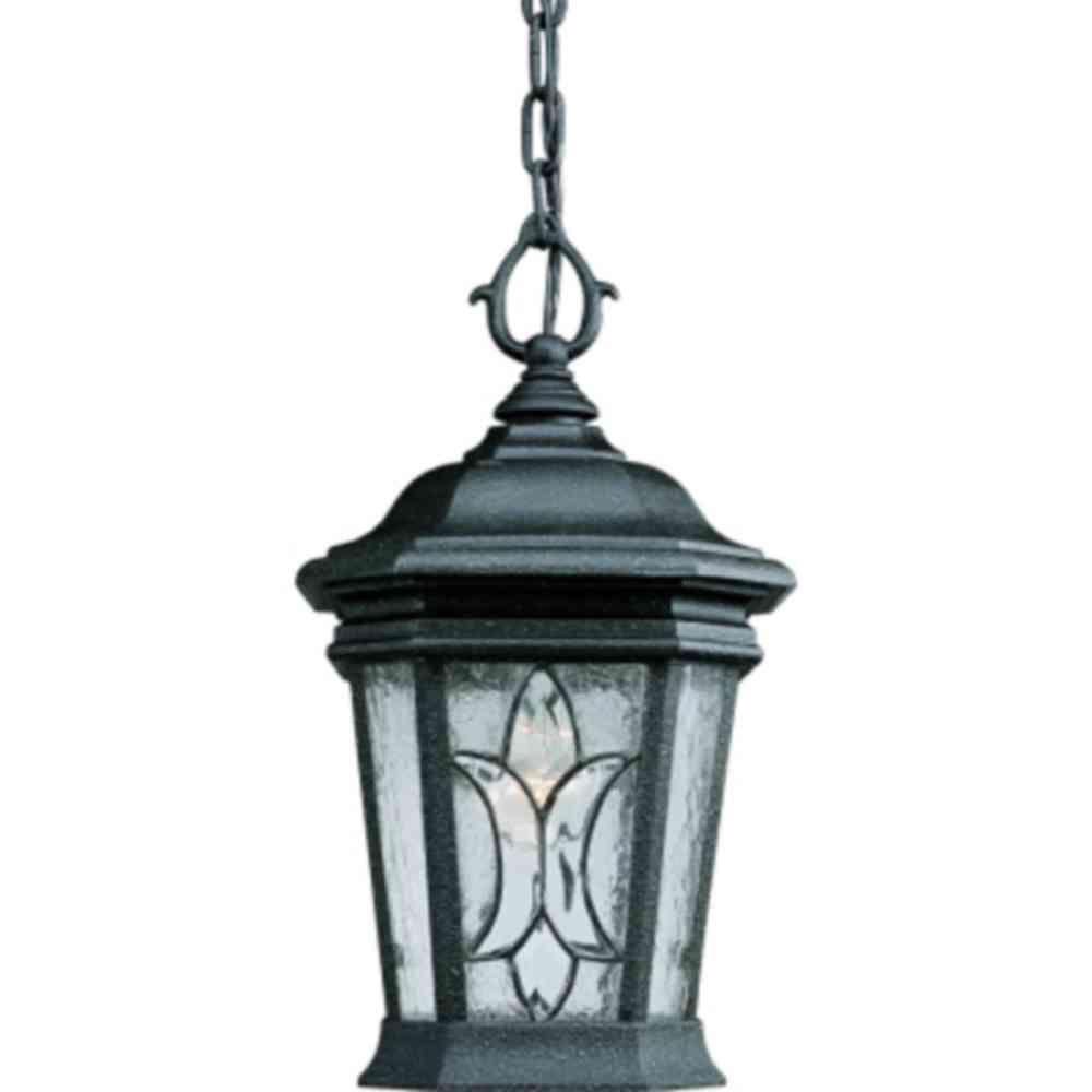 Cranbrook Collection 1-Light Gilded Iron Outdoor Lantern