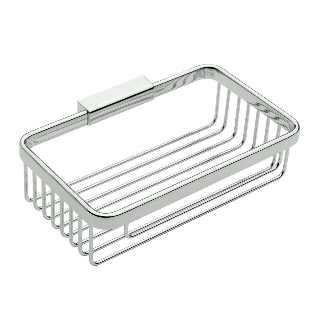 Ginger Hotelier 8 in. Deep Basket in Polished Chrome-551DG/PC - The