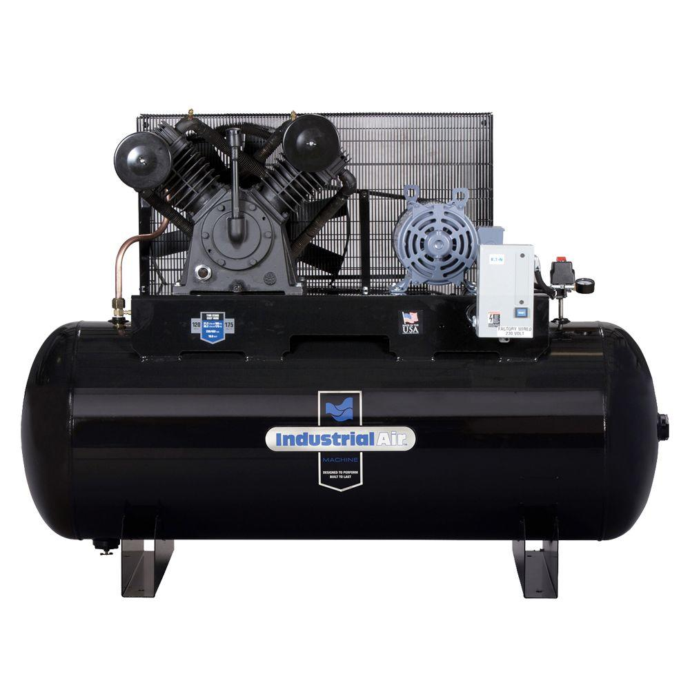 Industrial Air 120 Gal. Stationary Electric Air Compressor