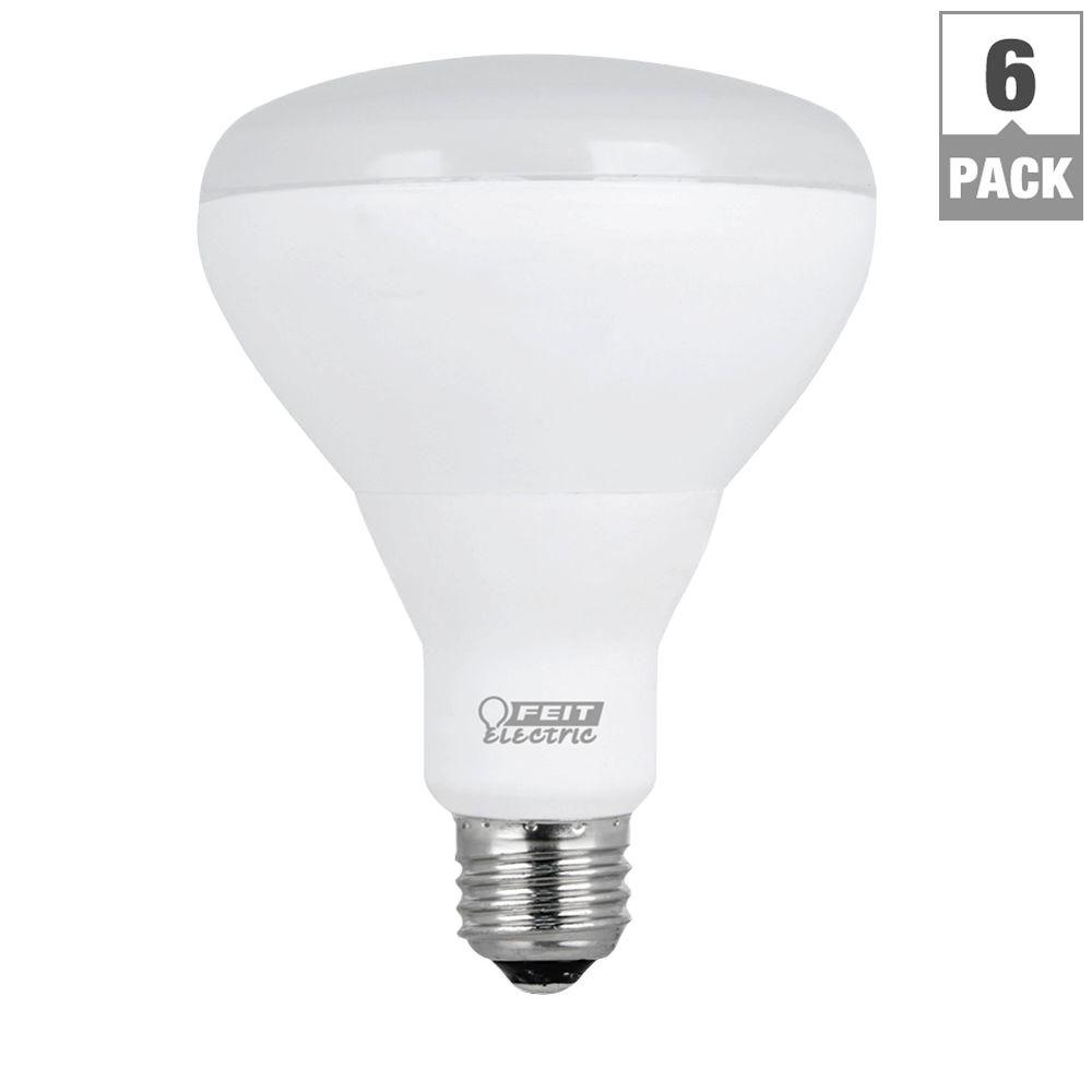 65W Equivalent Soft White BR30 Dimmable LED Light Bulb (144-Pack)