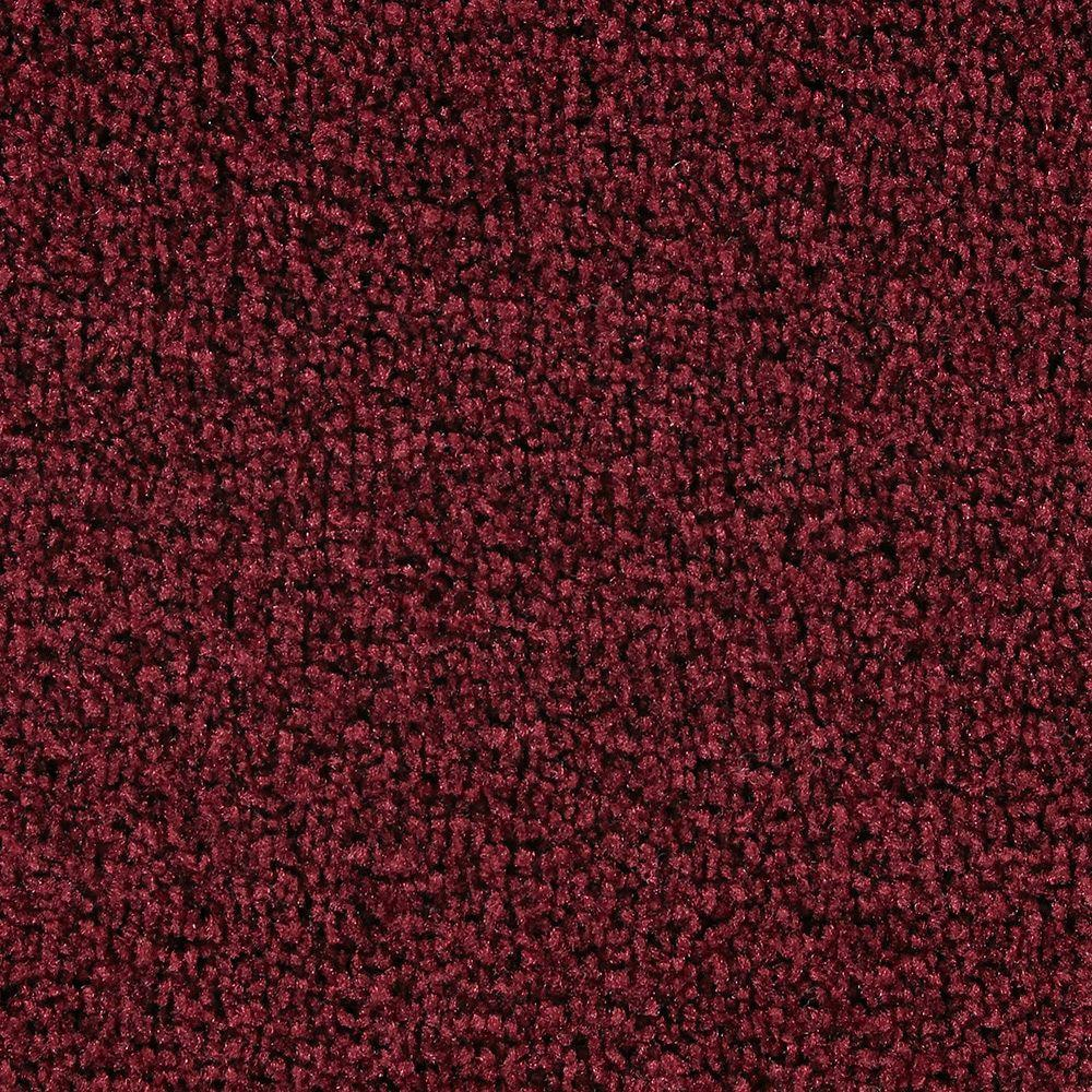Martha Stewart Living Brycemoor Claret - 6 in. x 9 in. Take Home Carpet Sample-DISCONTINUED