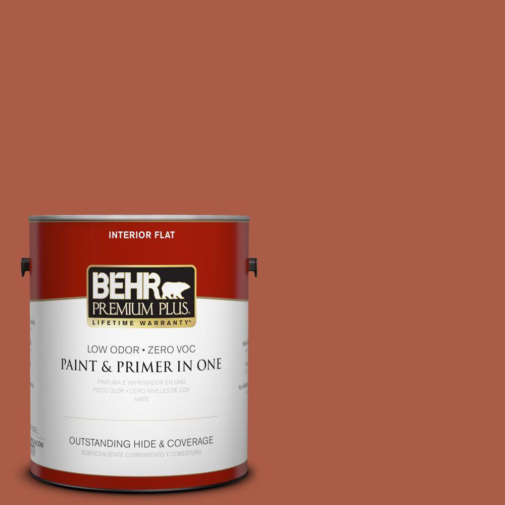 1-gal. #M190-7 Colorful Leaves Flat Interior Paint