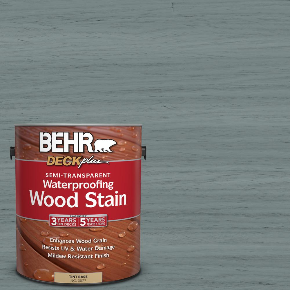 1 gal. #ST-125 Stonehedge Semi-Transparent Waterproofing Wood Stain