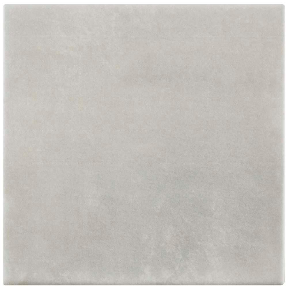 Atelier Gris 5-7/8 in. x 5-7/8 in. Ceramic Floor and Wall
