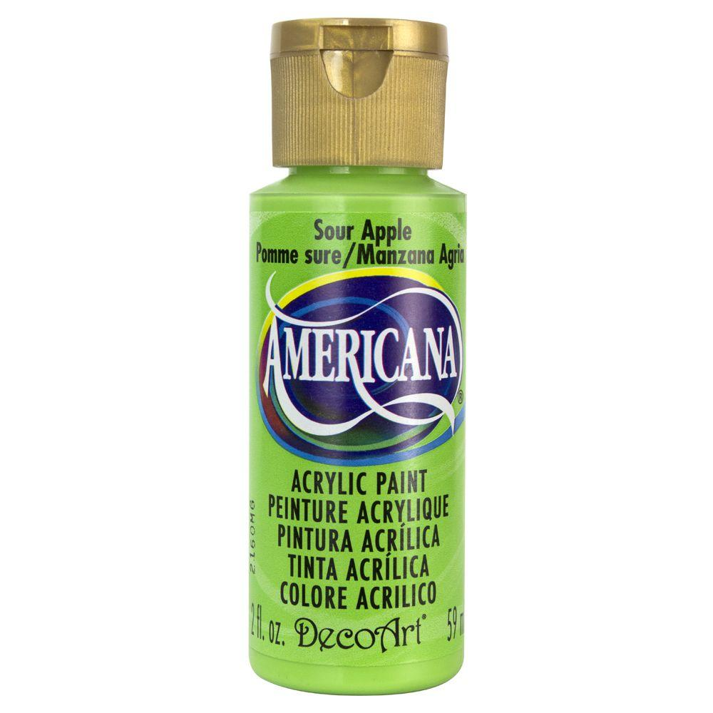 Americana 2 oz. Sour Apple Acrylic Paint