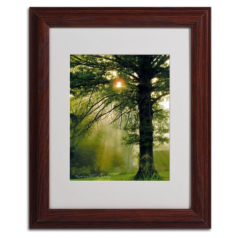 11 in. x 14 in. Magical Tree Matted Framed Art