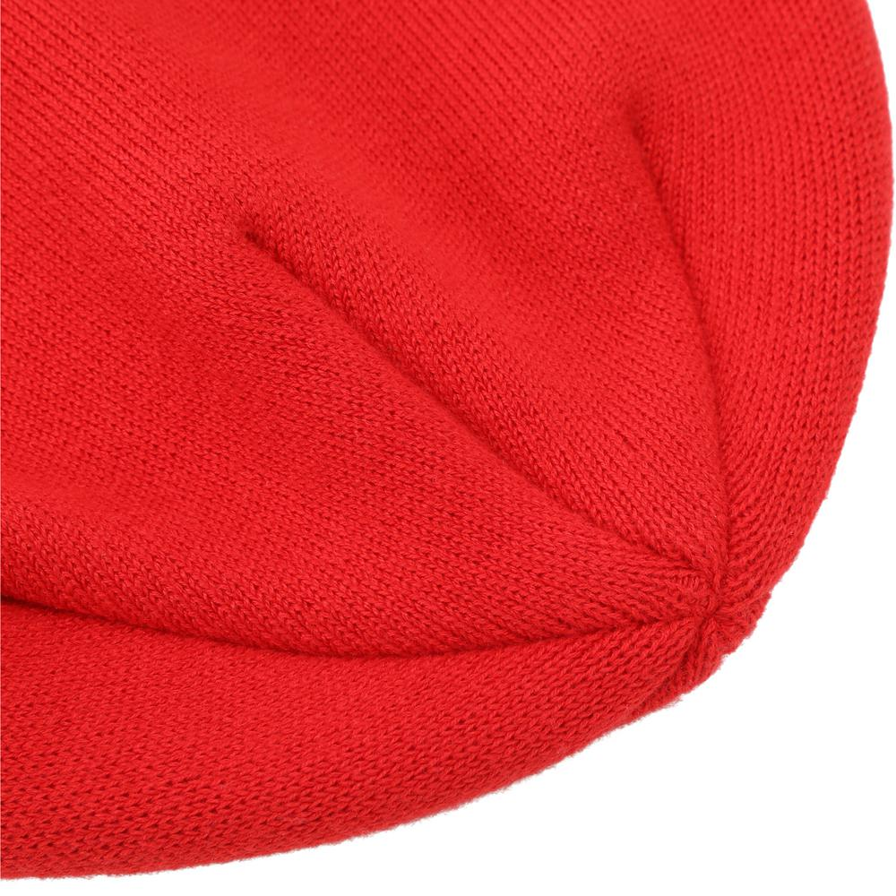 Knit hat featuring a one-size-fits-most design