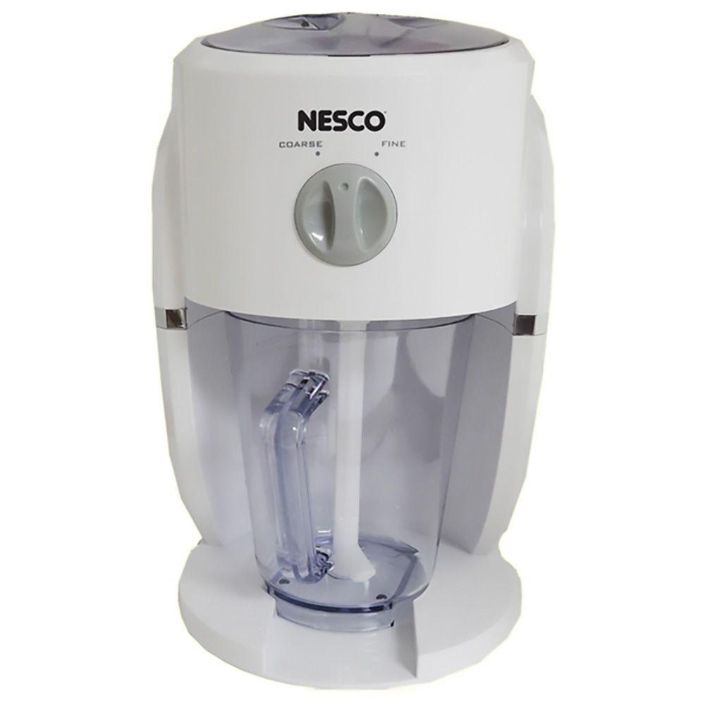 Nesco Ice Crusher and Drink Mixer in White-CC-32 - The Home