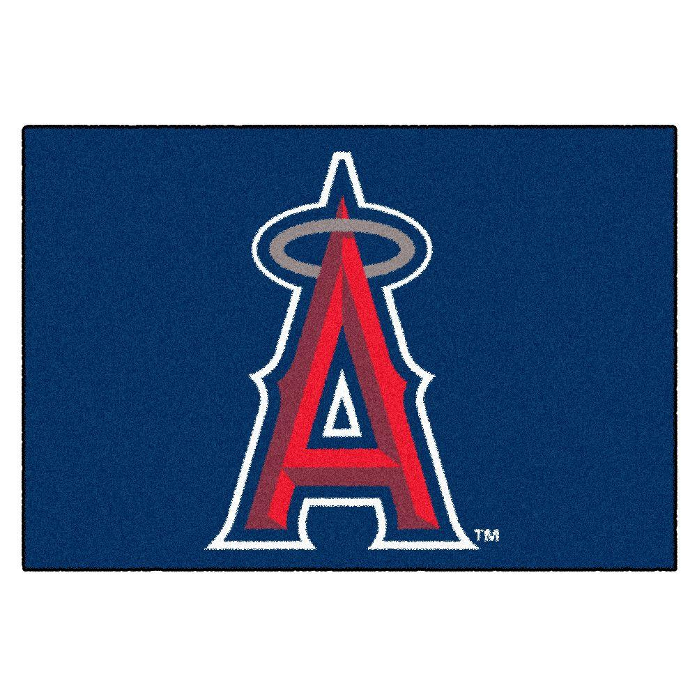 Los Angeles Angels 19 in. x 30 in. Accent Rug