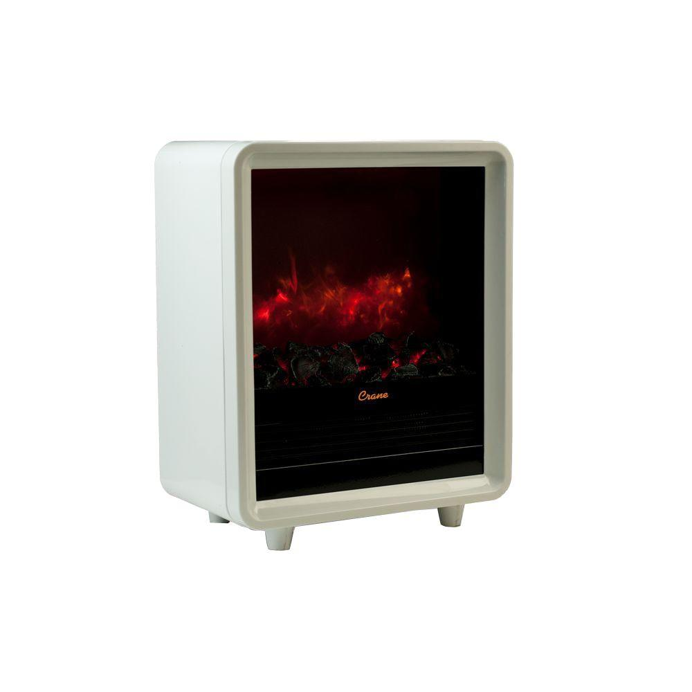 Crane Fire Places Wood Stoves Hardware 1500 Watt Mini Fireplace Ceramic Electric Portable