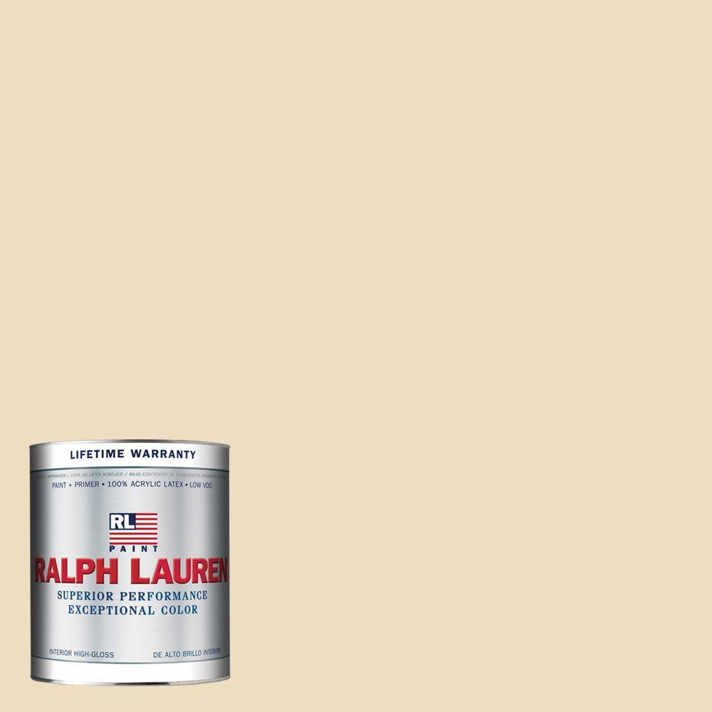 Ralph Lauren 1-qt. Cornice Pink Hi-Gloss Interior Paint-RL2275-04H - The Home