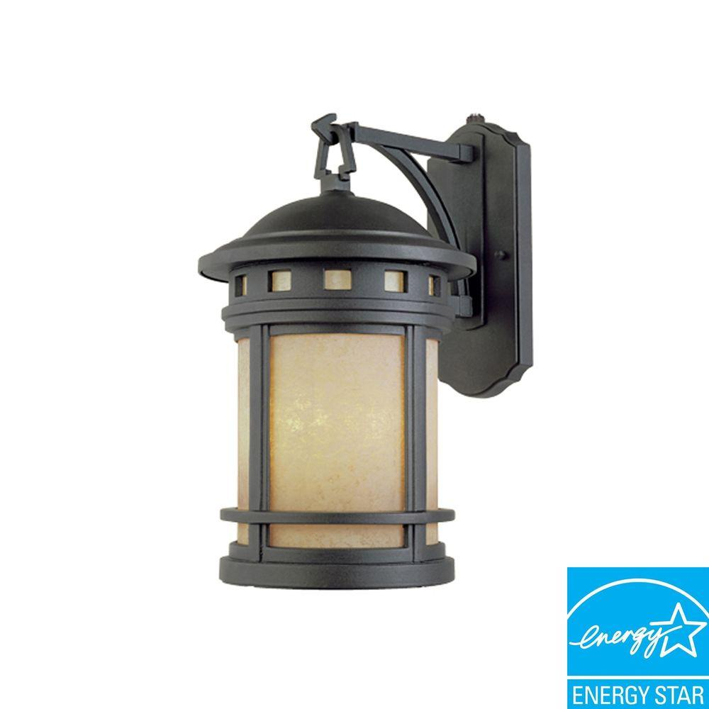 Designers Fountain Capistrano 1-Light Oil Rubbed Bronze Outdoor Wall-Mount