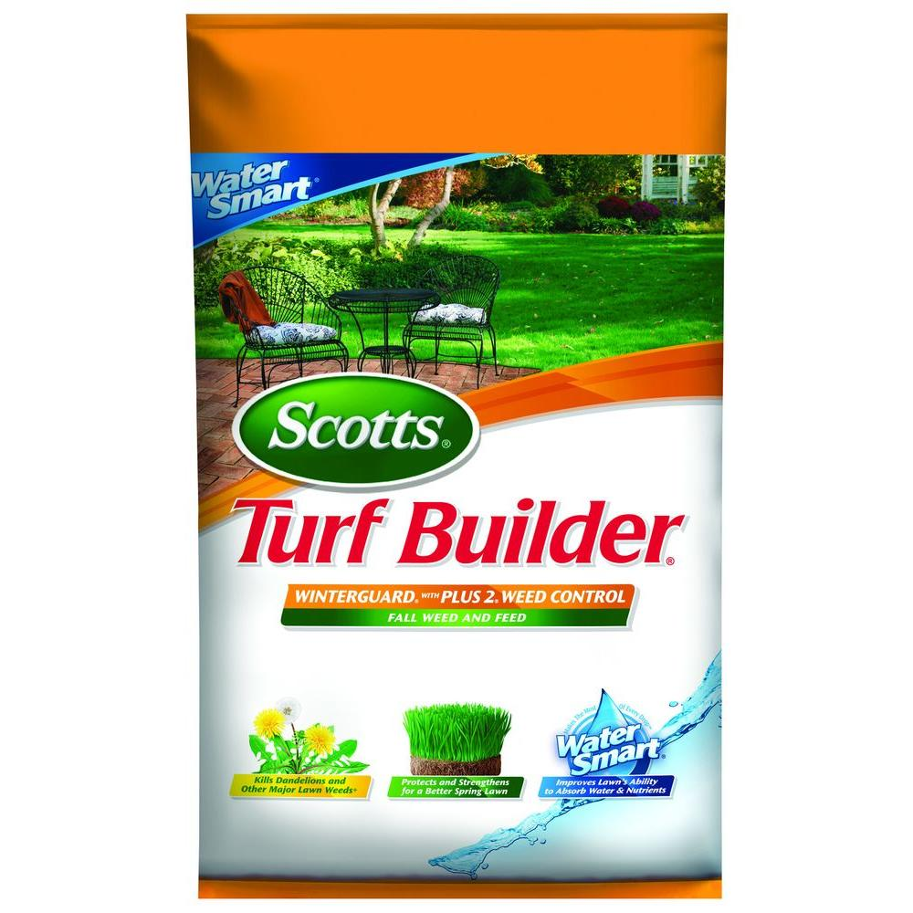 Turf Builder 43.21 lb. 15M WinterGuard with Weed Control