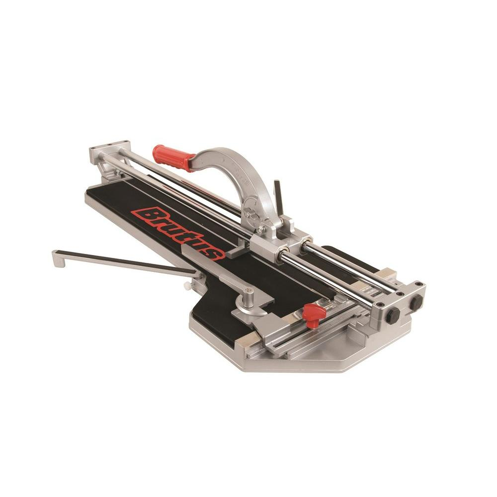 BRUTUS 24 in. Rip and 18 in. Diagonal, Pro Porcelain Tile Cutter-DISCONTINUED