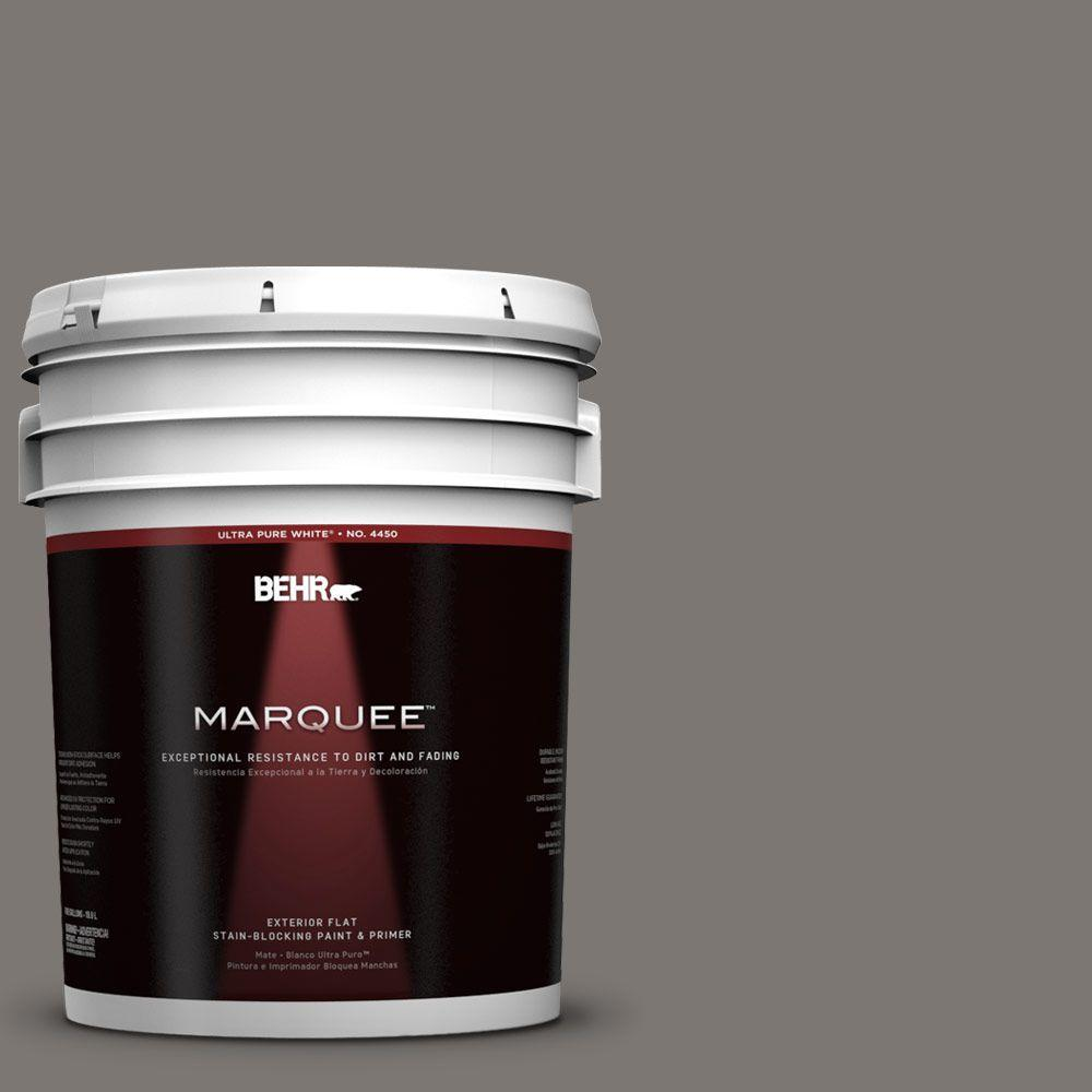5-gal. #790F-5 Amazon Stone Flat Exterior Paint
