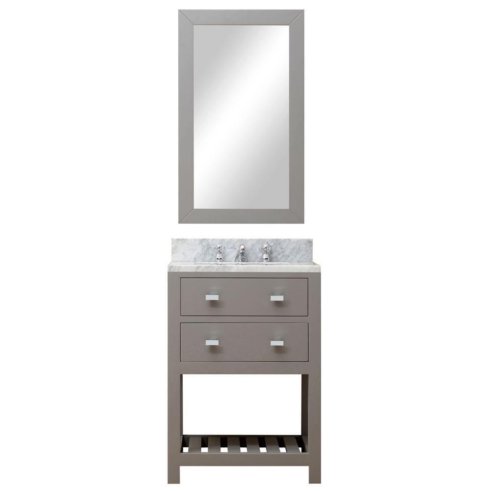 24 in. W x 21.5 in. D Vanity in Cashmere Grey
