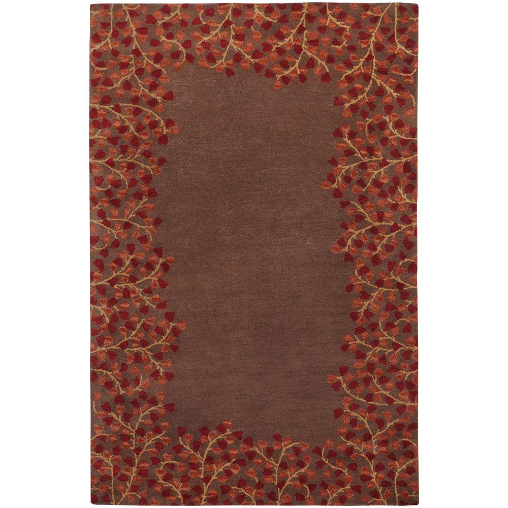 Artistic Weavers Scandicci Brown 9 ft. x 12 ft. Area Rug