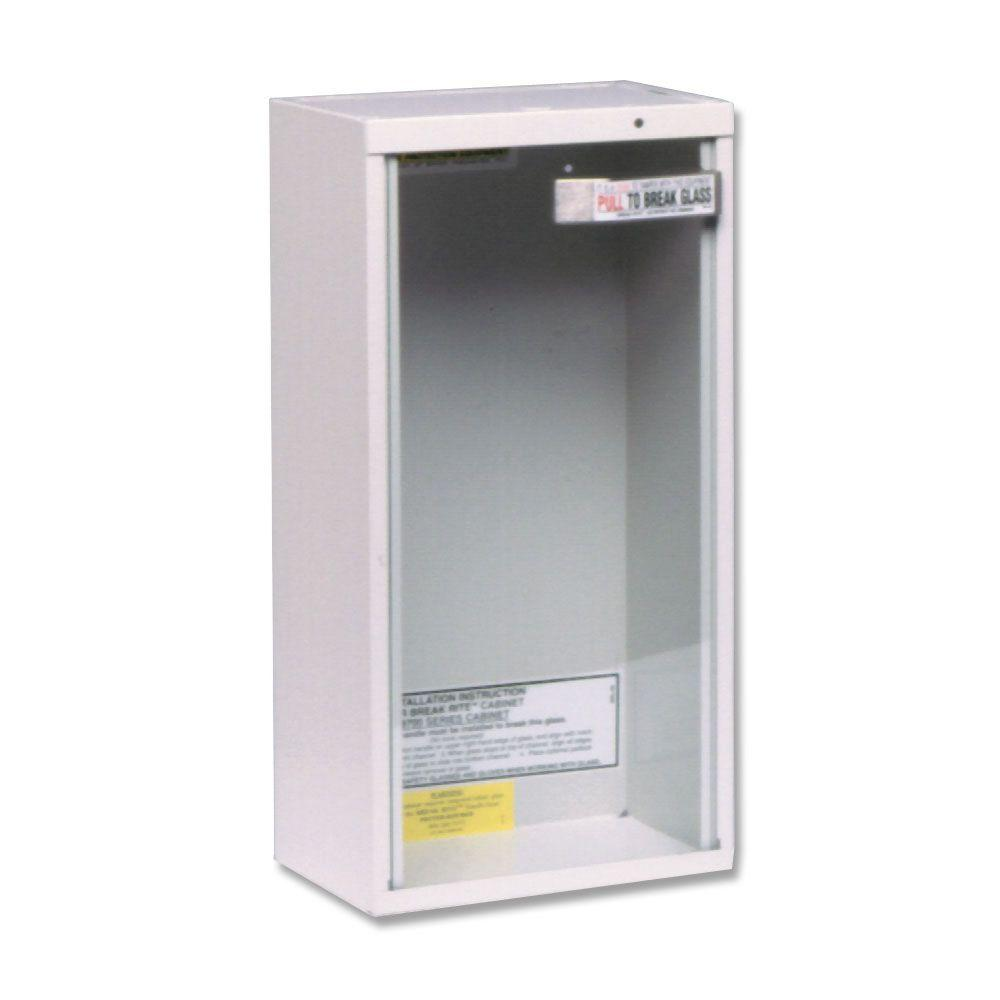 Kidde 5 lbs. Surface Mount Fire Extinguisher Cabinet