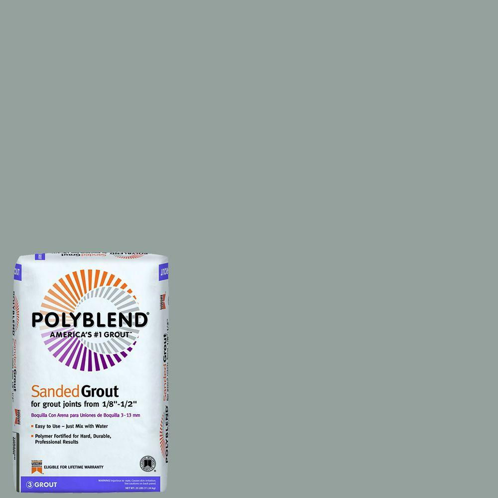 Polyblend #165 Delorean Gray 25 lb. Sanded Grout
