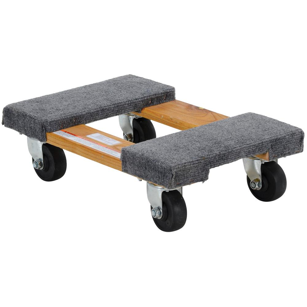 12 in. x 18 in. 900 lb. Carpet End Hardwood Dolly