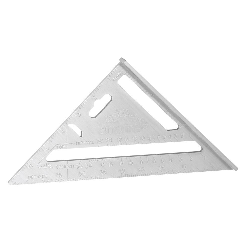 Magnum Fat Boy 7 in. Aluminum Rafter Square