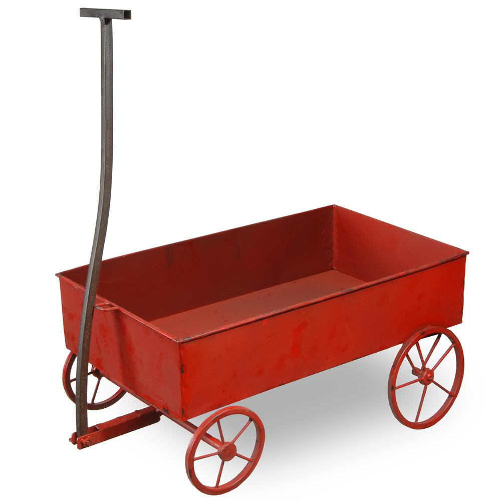 21 in. Wagon Towing Car