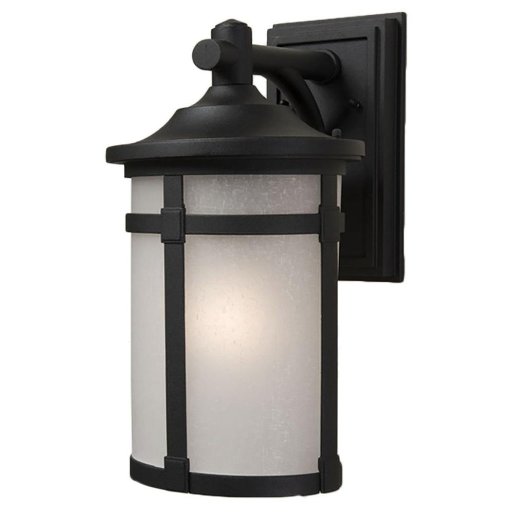 Beyer 1-Light Rich Black Outdoor Wall Sconce