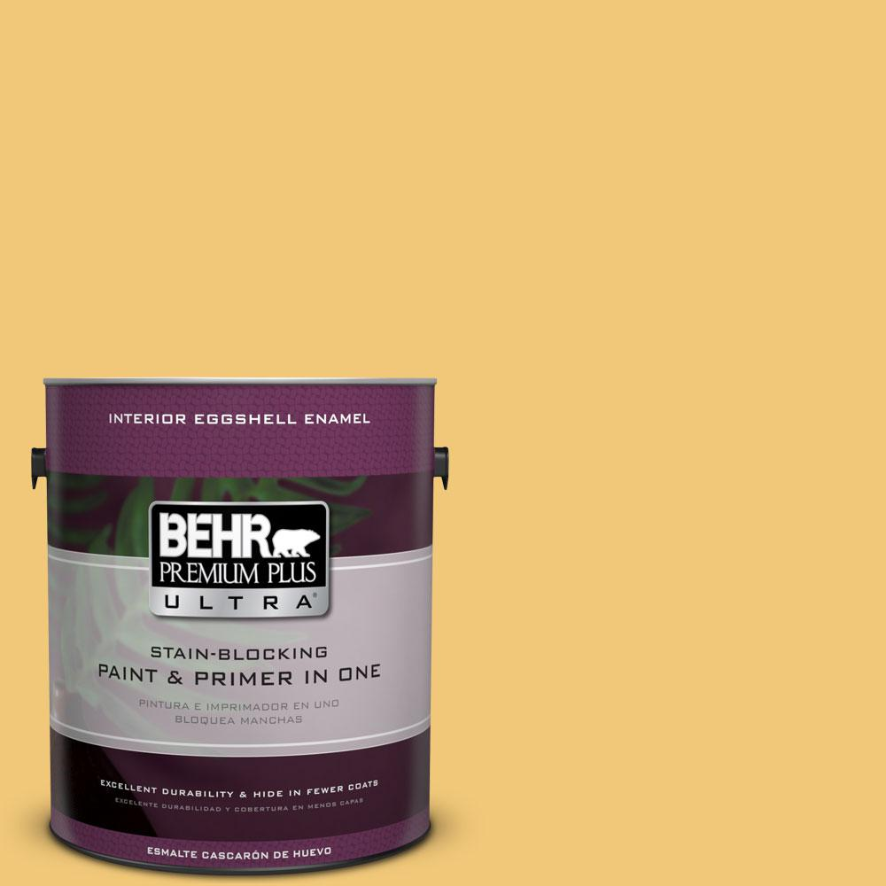 BEHR Premium Plus Ultra 1-gal. #T14-19 Sunday Afternoon Eggshell Enamel Interior Paint
