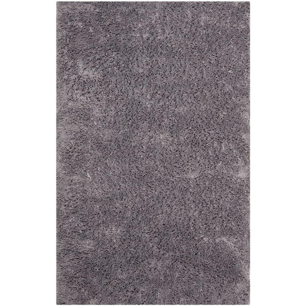 Classic Shag Ultra Gray 2 ft. 6 in. x 4 ft.