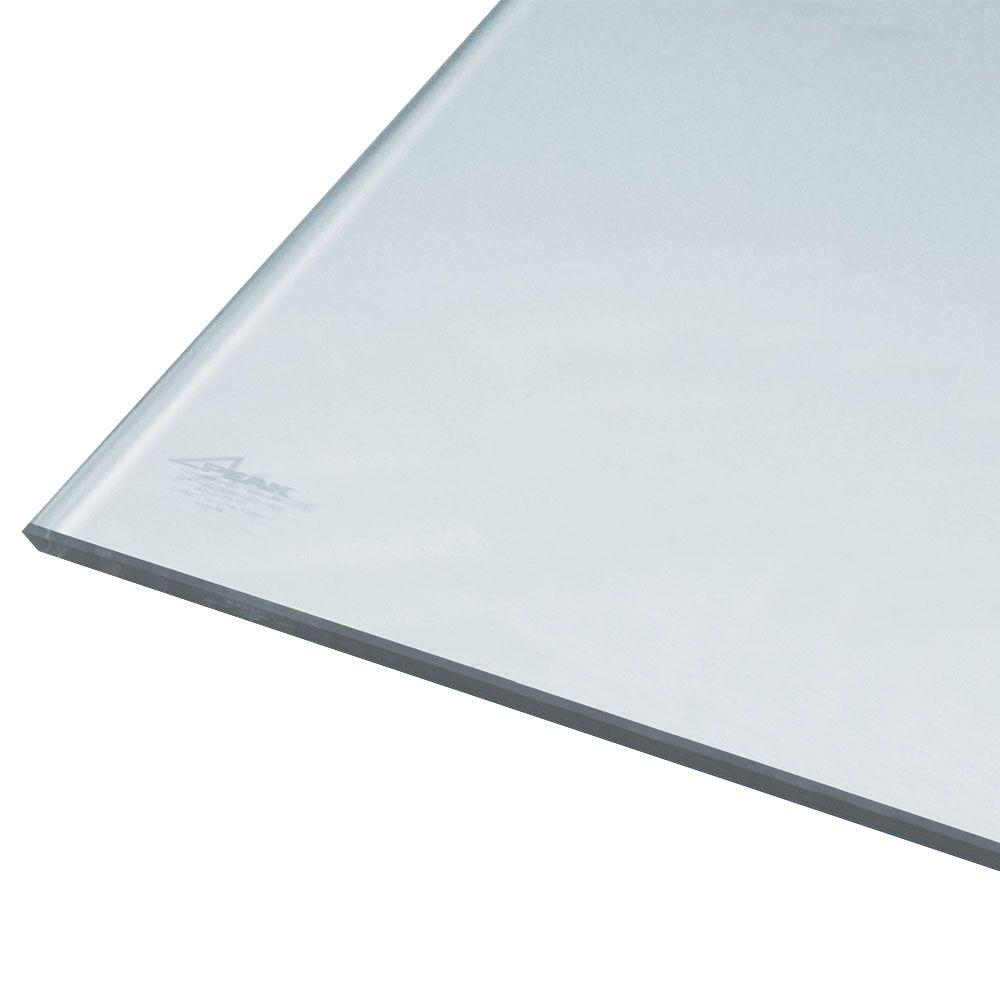 66 in. x 36-5/16 in. x 1/4 in. Tempered Glass Panel