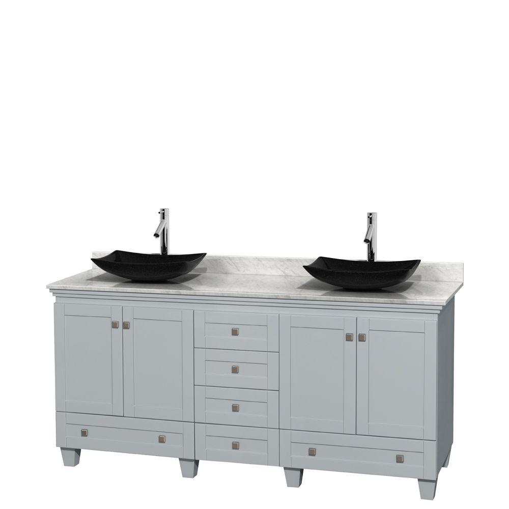 Wyndham Collection Acclaim 72 in. W x 22 in. D Vanity