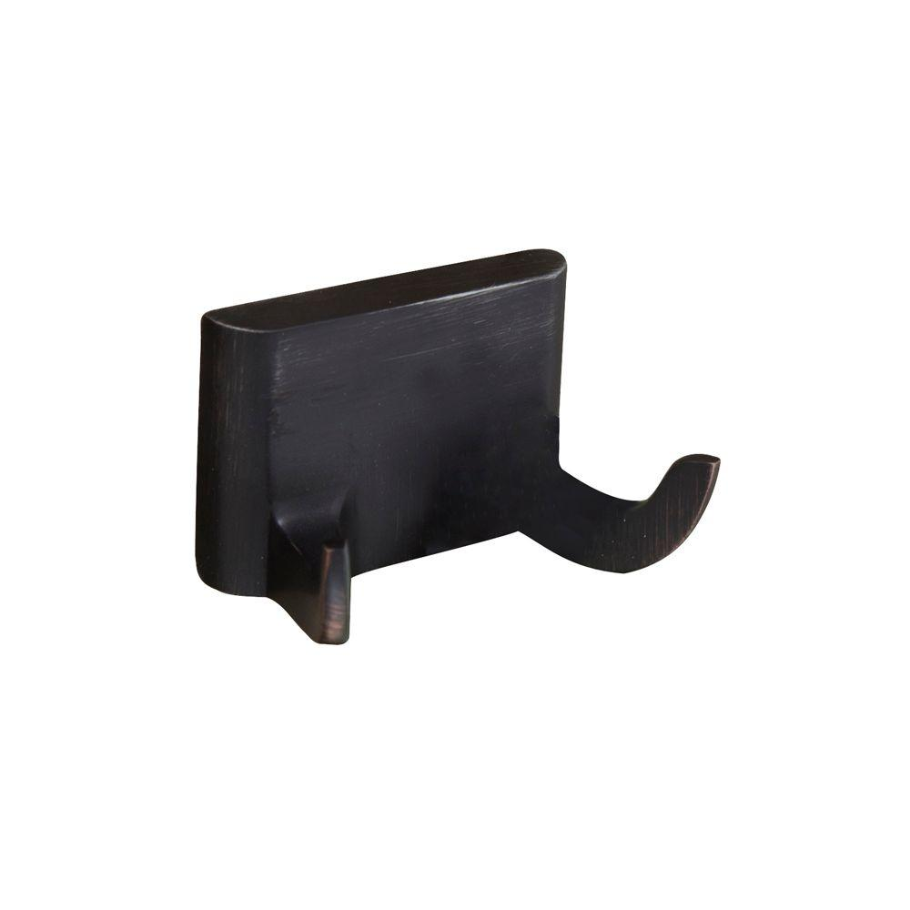 Hennessey Double Robe Hook in Oil Rubbed Bronze