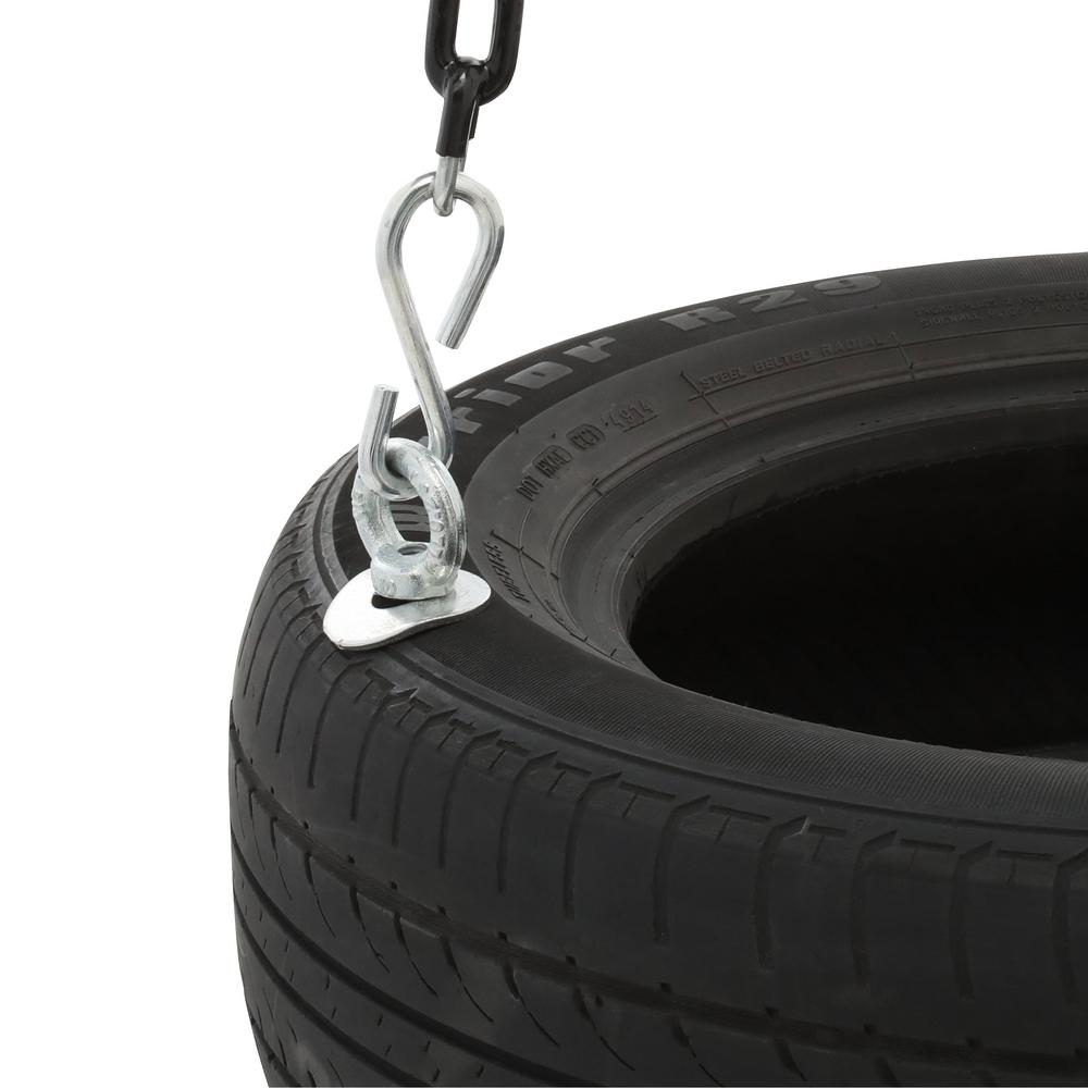 Tire swing featuring a 175-pound weight capacity