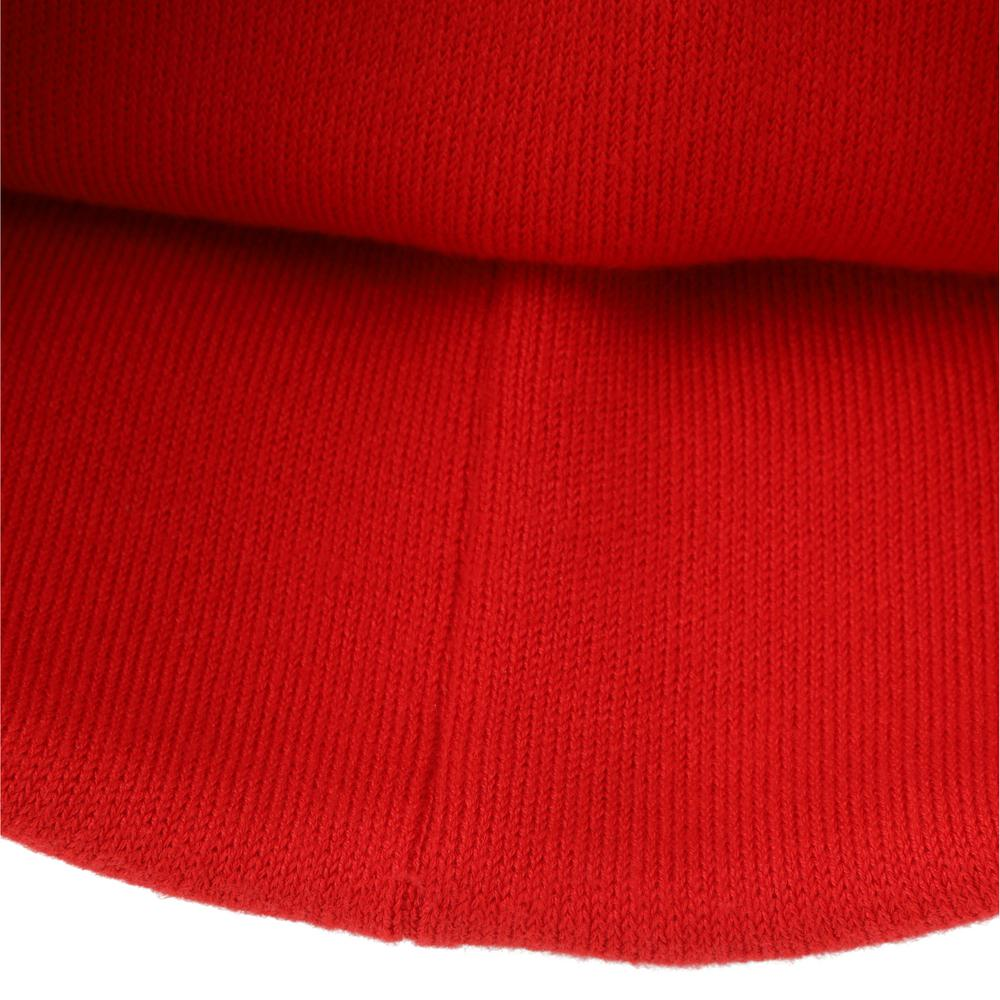 Knit hat with a machine washable design for ultimate convenience