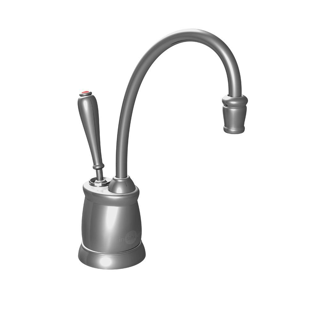 Indulge Tuscan Single-Handle Instant Hot Water Dispenser Faucet in Satin Nickel