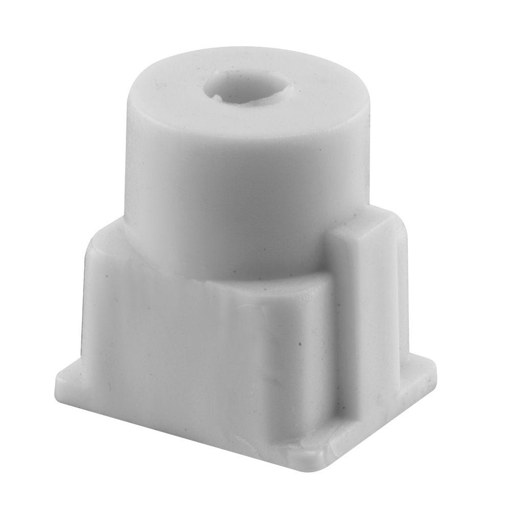 Prime-Line Nylon Square Hinge Cam, Unshaved-650-7232 - The Home Depot