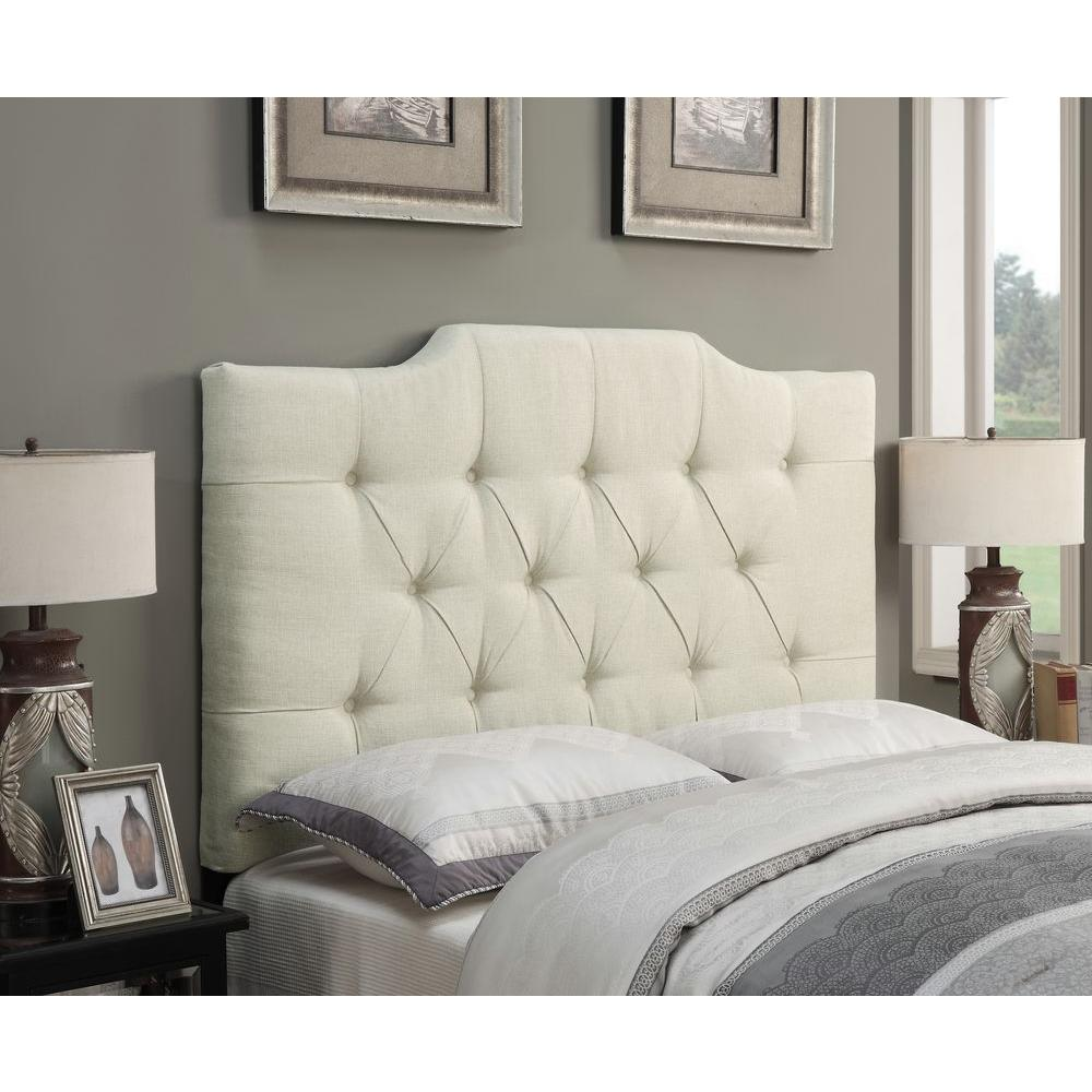 Pulaski Furniture Upholstered Full/Queen Headboard in Beige-DS-D014-250-433 -