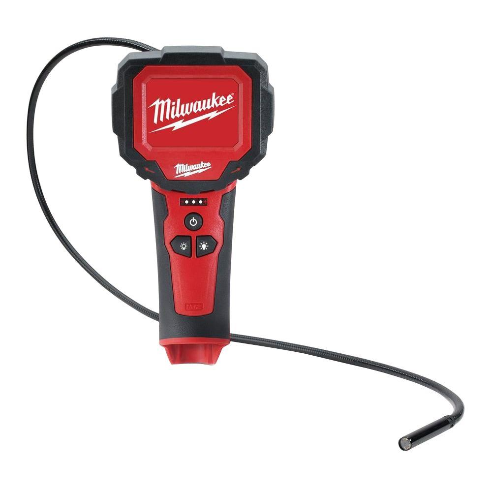 Milwaukee M12 12-Volt Lithium-Ion Cordless M-Spector 360 Digital Inspection Camera (Tool-Only)
