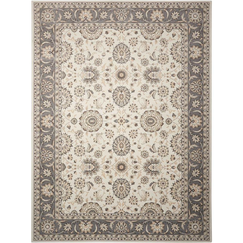 Persian Crown Ivory/Grey 9 ft. 3 in. x 12 ft. 9