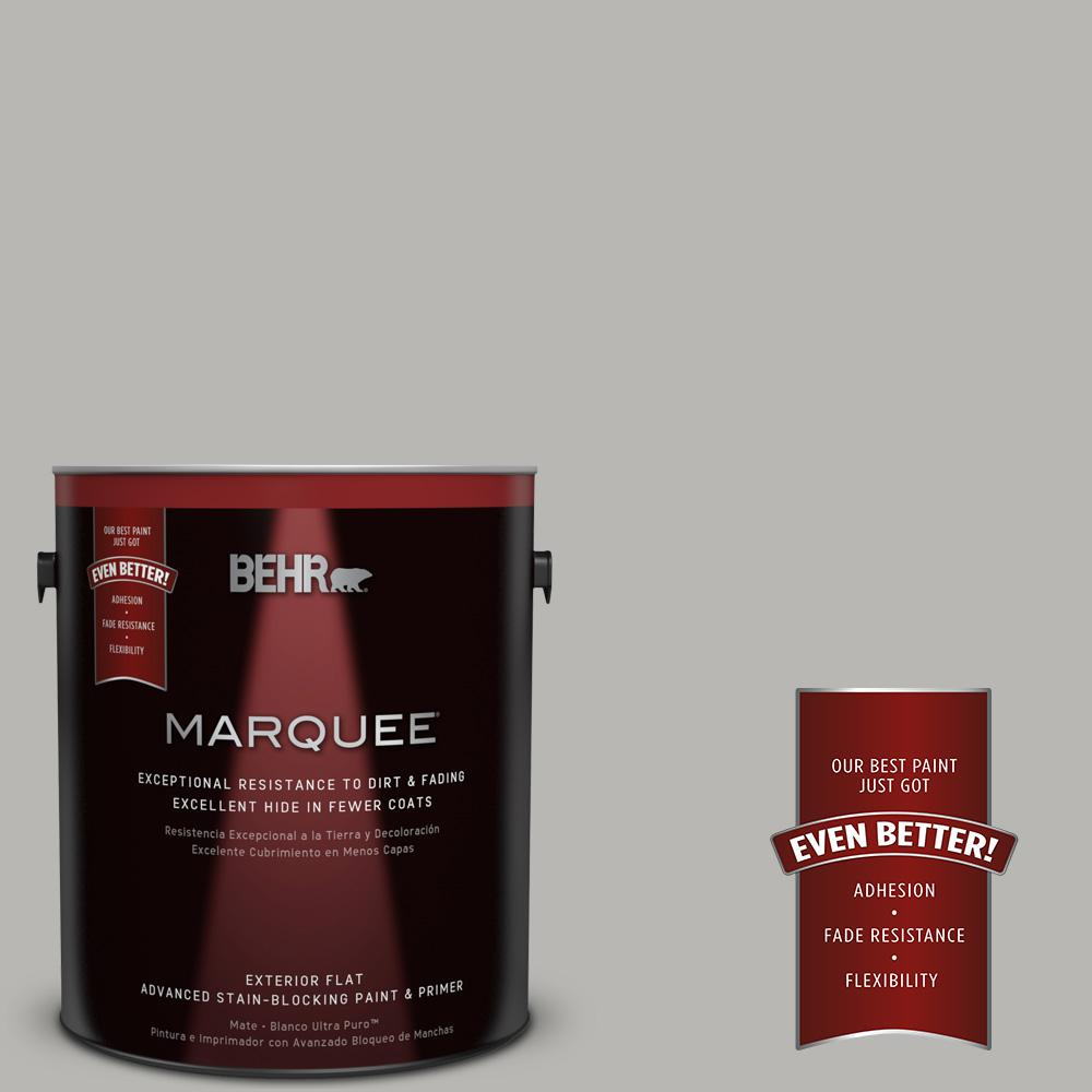 BEHR MARQUEE Home Decorators Collection 1-gal. #HDC-MD-26 Sonic Silver Flat Exterior Paint