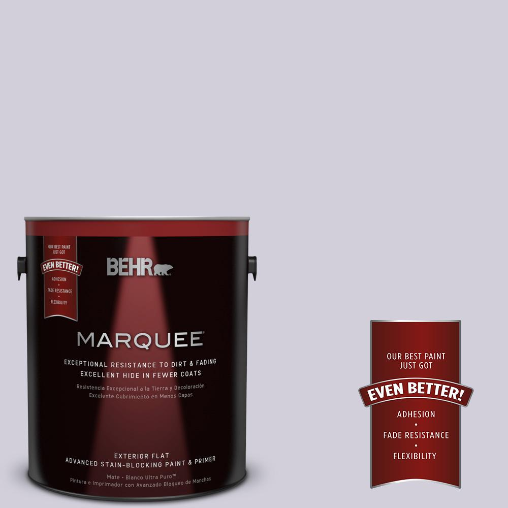 1-gal. #660E-2 Purple Essence Flat Exterior Paint