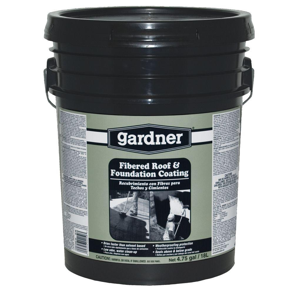 Gardner 4.75-Gal. Roof & Foundation Coating Low VOC-DISCONTINUED
