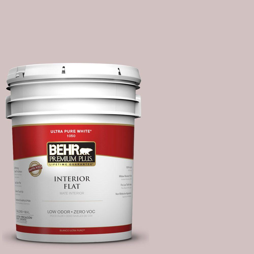 5-gal. #120E-2 French Taupe Zero VOC Flat Interior Paint